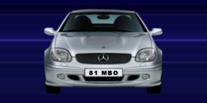 registration number plates